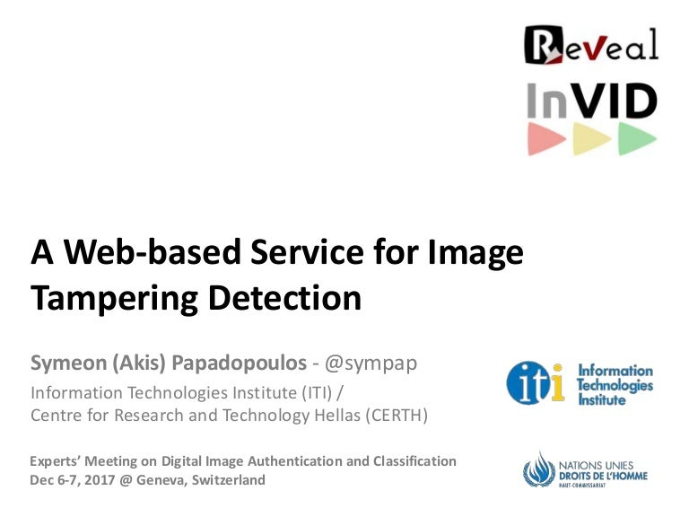 1b16f018deb7a A Web-based Service for Image Tampering Detection