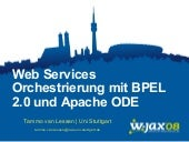 Web Services Orchestration with BPEL 2.0