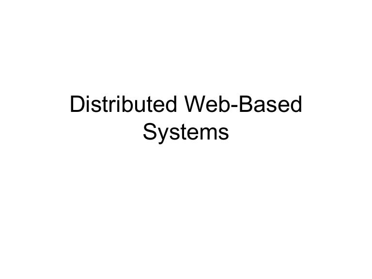 introduction to Web system