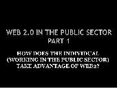 Web2 Use In Public Sector