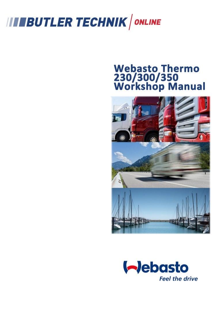 Do not start Webasto: reasons. Troubleshooting codes for Webasto