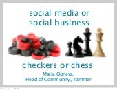 Social Media vs. Social Business - Webcom Montreal Keynote