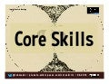 Core Skills on the Social Web