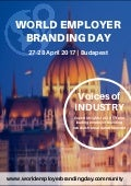 Voices of Industry - World Employer Branding Day 27-28 April 2017 | Budapest