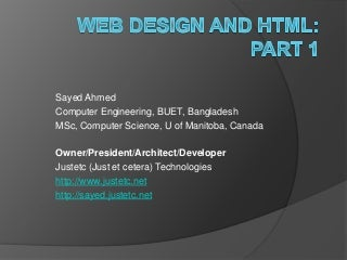 Web design and_html