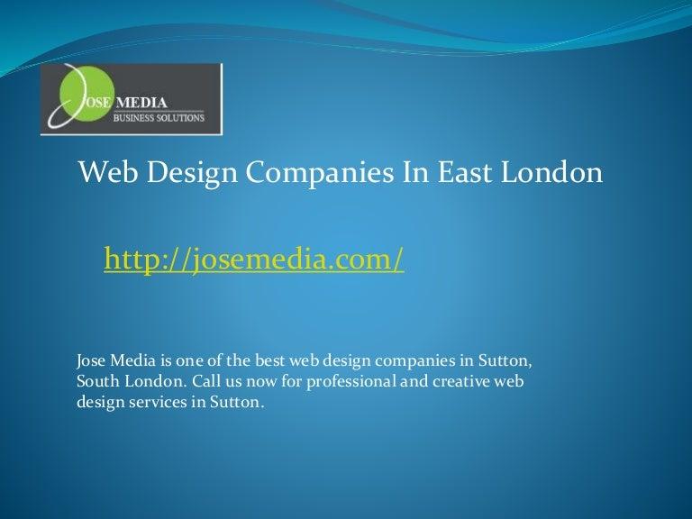 Web Design Companies In East London
