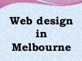 Web design in Melbourne