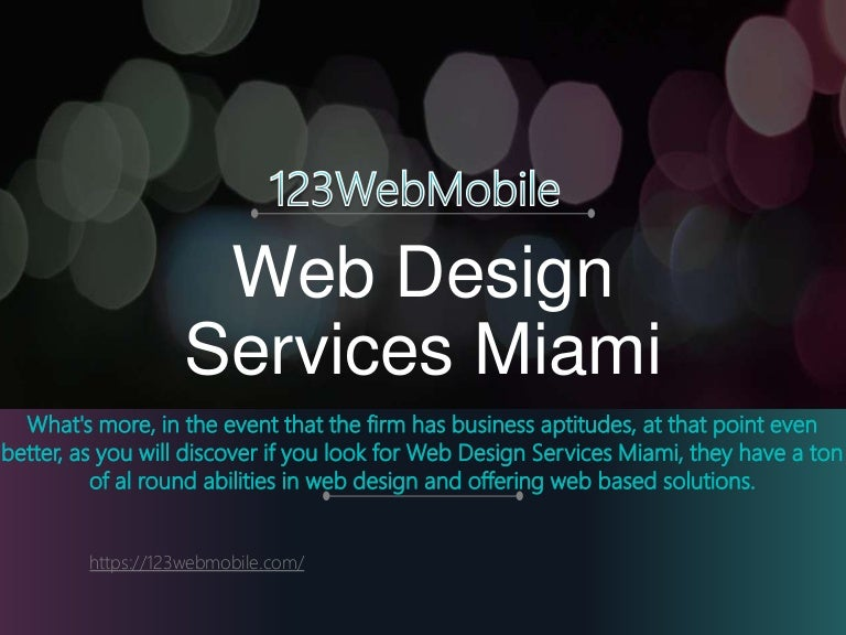 Web Design Services Miami