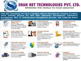 PHP Web Development Company - Joomla Web Development - Search Engine Optimization - Corporate Email Solutions - Web Hosting Solutions - Ecommerce Solutions - Multimedia Solutions