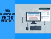 WEB Development! Why it's So Important?
