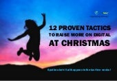Webinar -12 tactics to raise more on digital this christmas