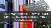 Insurance strategies with SMSF Limited Recourse Borrowing Arrangements