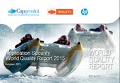 Webinar: Application Security insights from World Quality Report 2015-16