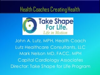 How to Become a Take Shape for Life Health Coach