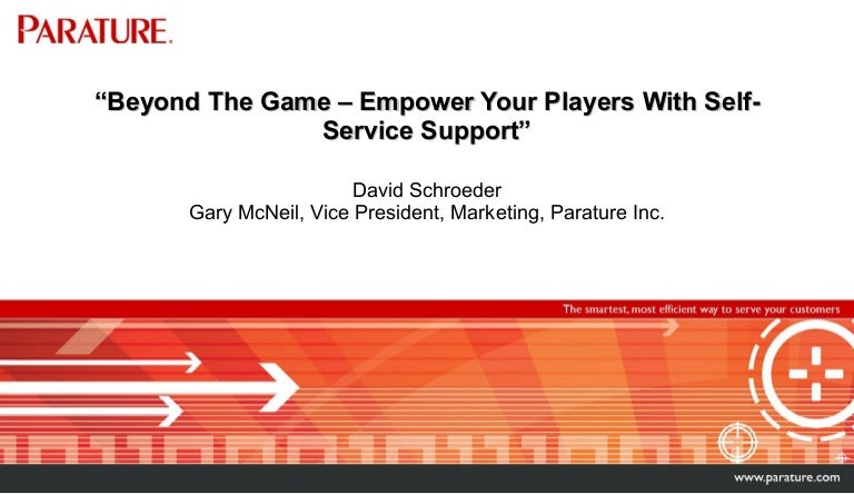 Beyond the Game: Empower Your Players with Self-Service Support