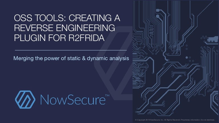 OSS Tools: Creating a Reverse Engineering Plug-in for r2frida