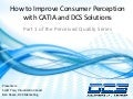 Perceived Quality Pt 1 - Spec Study in 3DCS and CATIA