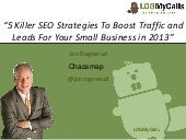 Small Business SEO Tips and Strategies For 2013 - Chaosmap.com