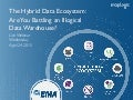 Webinar: The Hybrid Data Ecosystem: Are You Battling an Illogical Data Warehouse?