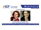 "ICF Synergie : ""La Déontologie ICF"" de Joceline Hamon et Elisabeth More - SLIDEs"