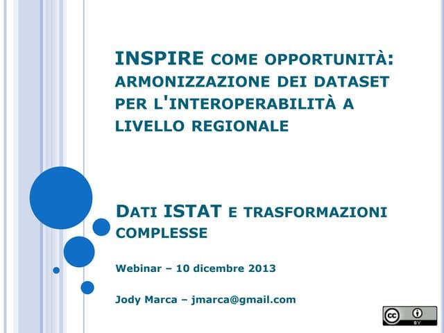 Webinar 2013 12-10-presentazione_jm