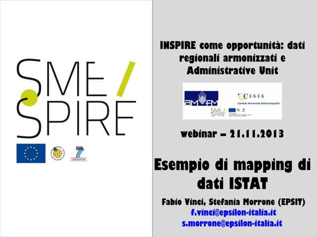 Webinar 20131121 fabio_vinci_esempio_di_mapping_di_dati_istat