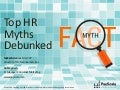 Webinar-Top HR Myths