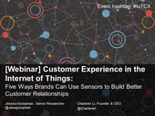 [Webinar] Customer Experience in the Internet of Things