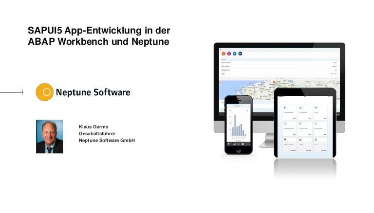 Webinarunterlagen: SAPUI5 App-Entwicklung in ABAP mit Neptune