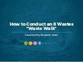 "WEBINAR: How to Conduct an 8 Wastes ""Waste Walk"""