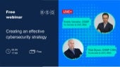 """Slides to the online event """"Creating an effective cybersecurity strategy"""" by Berezha Security Group"""