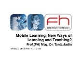 Webinar mobile learning_jadin_nov13