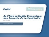 Webinar monetisation pour start up academy vf