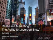 [Webinar] Real-Time Marketing: The Agility to Leverage Now with Rebecca Lieb
