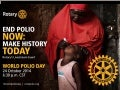 Celebrate World Polio Day 2014