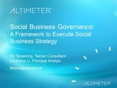 [Webinar] Social Business Governance, by Altimeter Group