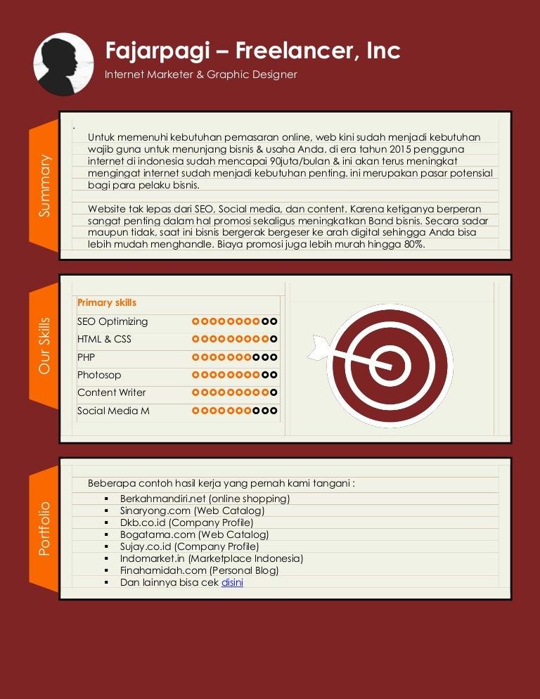 Contoh Proposal Web Design
