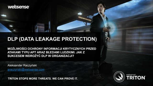 DLP (data leakage protection)
