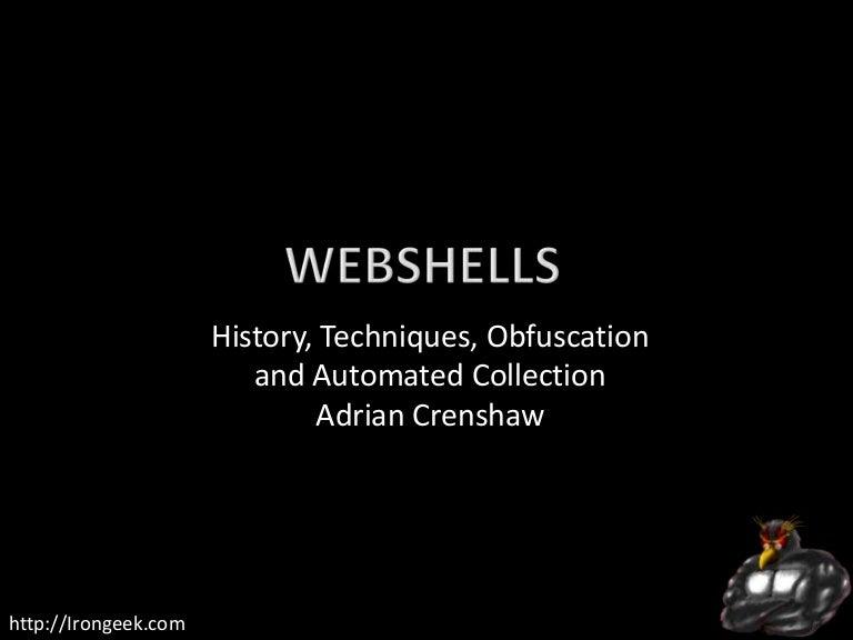 TakeDownCon Rocket City: WebShells by Adrian Crenshaw