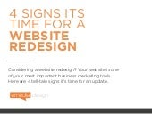 4 Signs It's Time for a Website Redesign