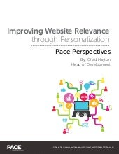Improving Website Relevance Through Personalization
