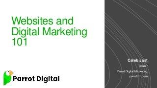Websites and Digital Marketing 101