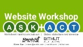Website Workshop ASK & ACT Model