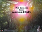 Web Standards based Augmented Reality