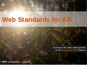 Web Standards for AR workshop at ISMAR13