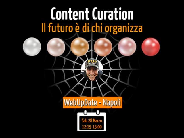 Il Futuro è di Chi Organizza - WebUpdate 2015