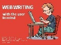 Web Writing with the User in Mind