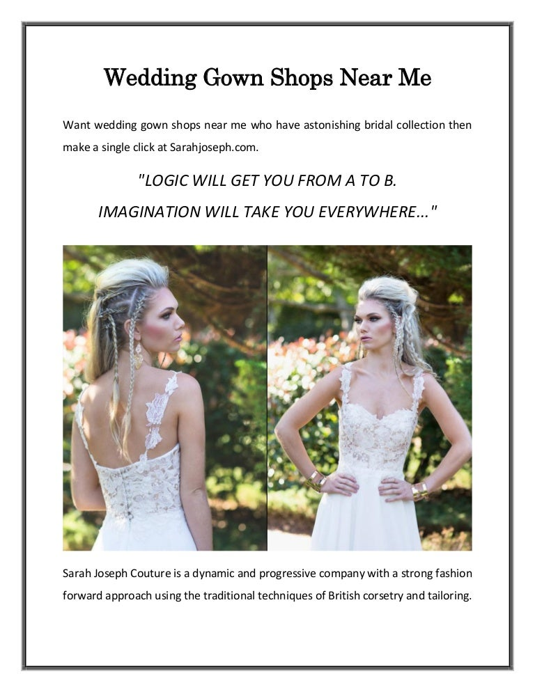 Wedding Gown Shops Near Me