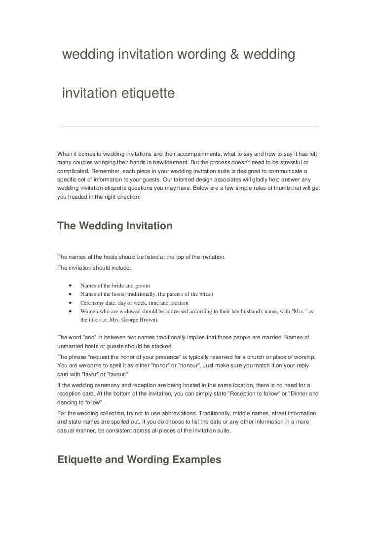 Wedding invitation wording stopboris Images