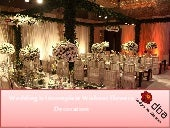 Wedding Is Incomplete Without Flowers Decoration